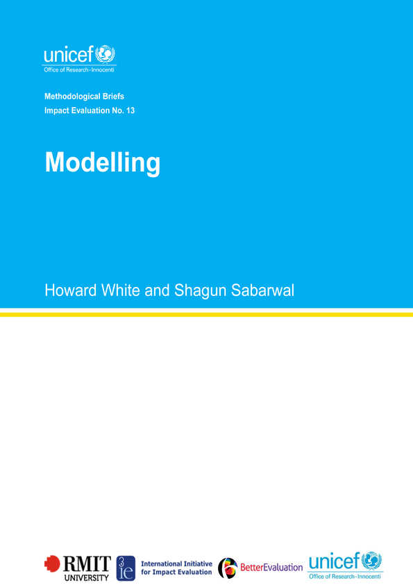 Modelling: Methodological Briefs - Impact Evaluation No. 13