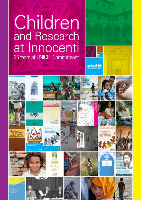 Children and Research at Innocenti: 25 Years of UNICEF Commitment