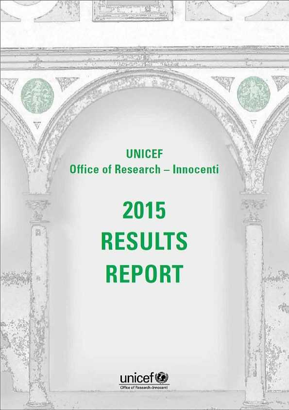 cover 2015 Results Report
