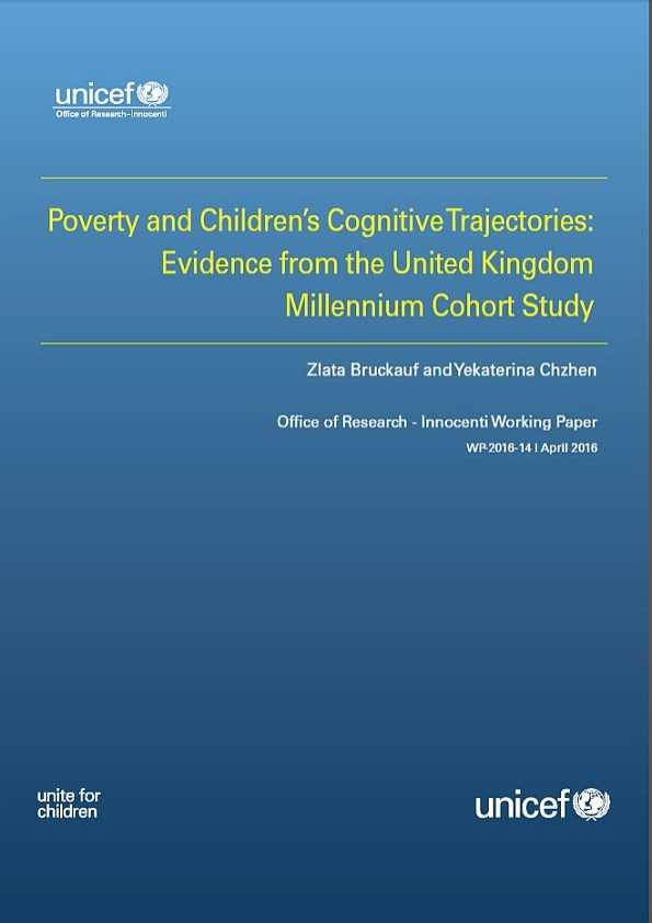 Poverty and Children's Cognitive Trajectories: Evidence from the United Kingdom Millennium Cohort Study