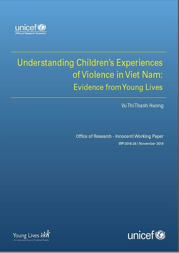 Understanding Children's Experiences of Violence in Viet Nam: Evidence from Young Lives