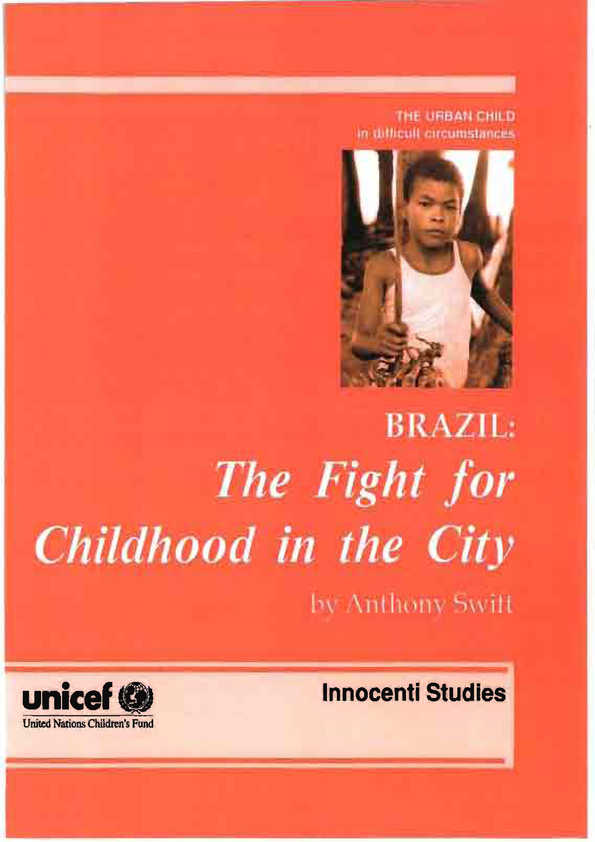 Brazil: The fight for childhood in the city