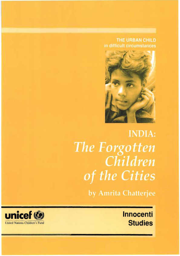 India: The forgotten children of the cities