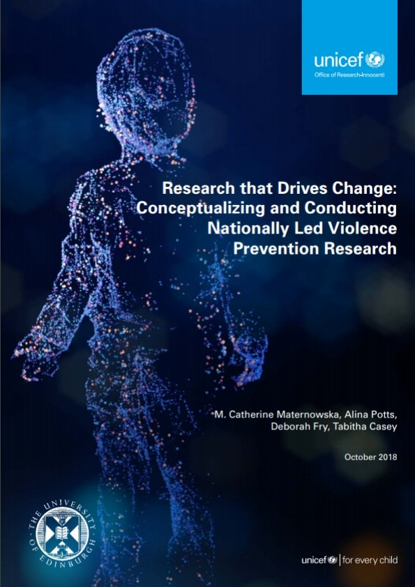 Research that Drives Change: Conceptualizing and Conducting Nationally Led Violence Prevention Research