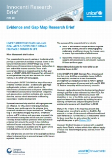 Evidence and Gap Map Research Brief 5