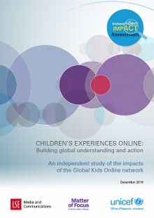 CHILDREN'S EXPERIENCES ONLINE: Building global understanding and action