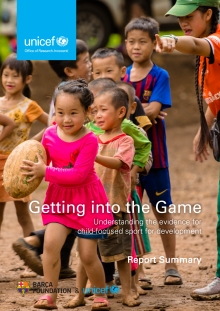 Getting into the Game: Understanding the evidence for child-focused sport for development