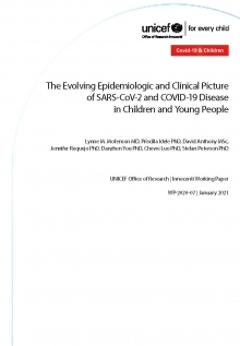 The Evolving Epidemiologic and Clinical Picture of SARS-CoV-2 and COVID-19 Disease in Children and Young People
