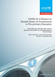 COVID-19: A reason to double down on investments in pre-primary education