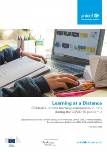 Learning at a Distance: Children's remote learning experiences in Italy during the COVID-19 pandemic