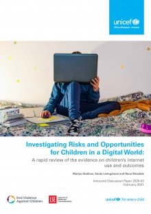 Investigating Risks and Opportunities for Children in a Digital World: A rapid review of the evidence on children's internet use and outcomes