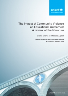 The Impact of Community Violence on Educational Outcomes: A review of the literature