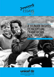A Human Rights Conceptual Framework for UNICEF