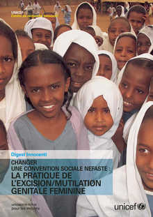 Changer une convention sociale nefaste: la pratique de l'excision/mutilation genitale feminine