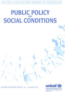 Public Policy and Social Conditions
