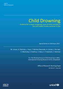 Child Drowning: Evidence for a newly recognized cause of child mortality in low and middle income countries in Asia