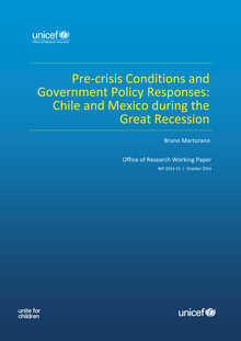 Pre-crisis Conditions and Government Policy Responses: Chile and Mexico during the Great Recession