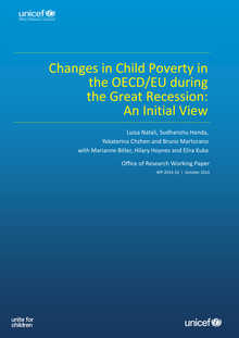Changes in Child Poverty in the OECD/EU during the Great Recession: An initial view
