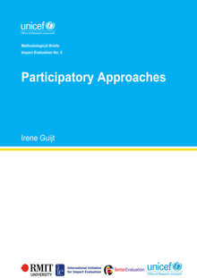 Participatory Approaches: Methodological Briefs - Impact Evaluation No. 5