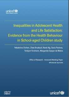 Inequalities in Adolescent Health and Life Satisfaction: Evidence from the Health Behaviour in School-aged Children study