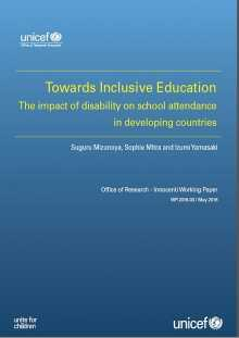Towards Inclusive Education: The impact of disability on school attendance in developing countries