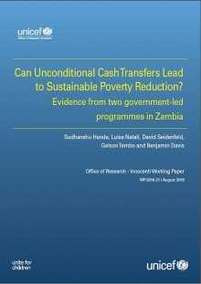 Can Unconditional Cash Transfers Lead to Sustainable Poverty Reduction? Evidence from two government-led programmes in Zambia