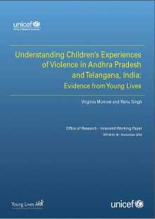 Understanding Children's Experiences of Violence in Andhra Pradesh and Telangana, India: Evidence from Young Lives
