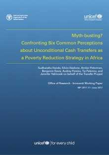 Myth-busting? Confronting Six Common Perceptions about Unconditional Cash Transfers as a Poverty Reduction Strategy in Africa