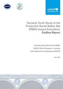 Tanzania Youth Study of the Productive Social Safety Net (PSSN) Evaluation: Endline Report