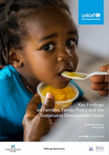 Key Findings on Families, Family Policy and the Sustainable Development Goals: Synthesis Report