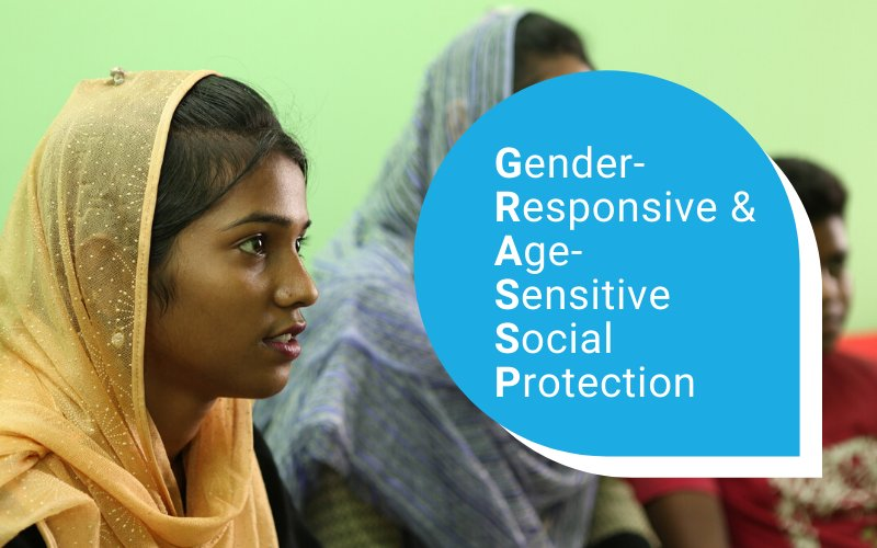 Gender-responsive and age-sensitive social protection